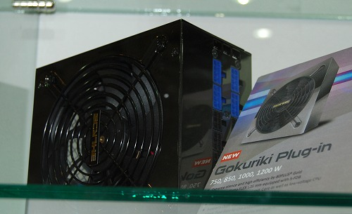 new PSU from Scythe is the Gokuriki, which is 80 PLUS Gold certified ...