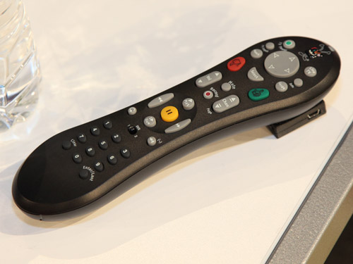 "A ""context aware"" smart TV remote control."
