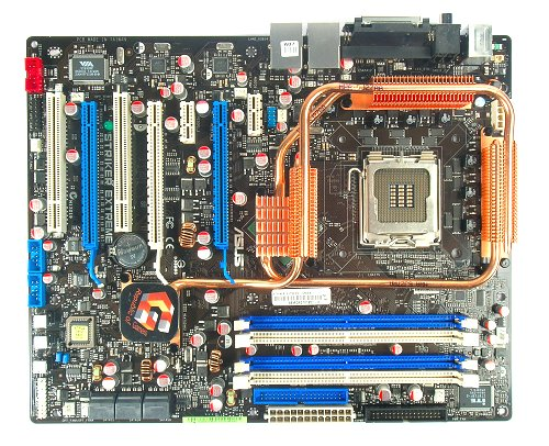 The ASUS Striker Extreme motherboard.