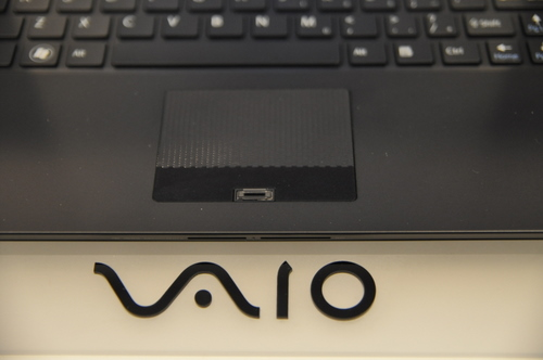 You can't expect a notebook classified for business usage without some form of security, which in the Vaio Z's case is the Biometric scanner, found below the textured trackpad.