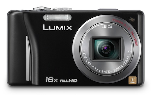 The Panasonic Lumix DMC-TZ20.