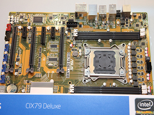 Yet another ASUS board, probably with features befitting the Deluxe label.