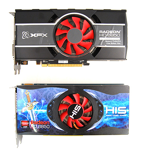 The XFX card is as blocky as the reference card.