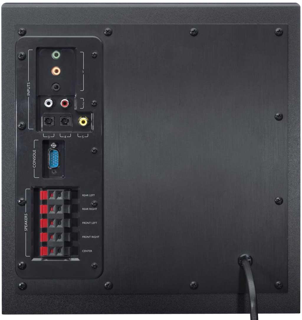 First Looks Logitech Speaker System Z906 Hardwarezone