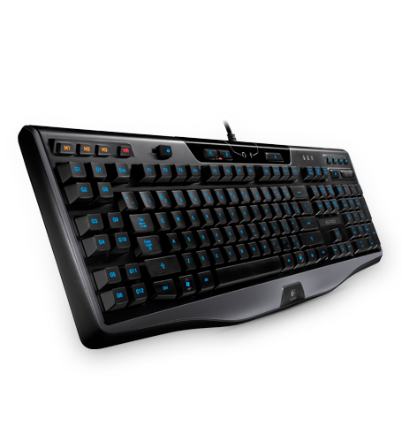 The Logitech G110 keyboard was part of the gaming arsenal I used to go up against my seasoned StarCraft II gamer friend. As intimidating as it looks, it never increased my odds of winning.