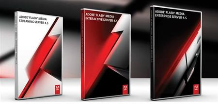 (Different versions of Adobe  Flash Media Server 4.5)