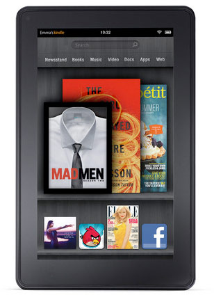 Introducing the Amazon Kindle Fire. The right balance of hardware, complemented by Amazon's extensive collection of e-books and movies.
