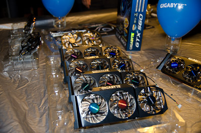 One of the highlighted product lineup at the event were the Super Overclock Series graphics cards