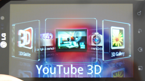 This is the 3D Space app which naturally sports a 3D UI. Here, you can access all 3D-related apps through shortcuts such as the 3D Gallery, 3D Games, and 3D Camera. This also includes a YouTube 3D app, which does not only allow but also encourage users to upload 3D content on a shared platform.
