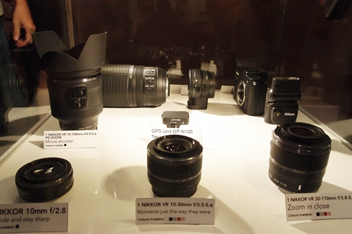 The new 1 NIKKOR lenses and Nikon 1 accessories also make their appearances at the event.