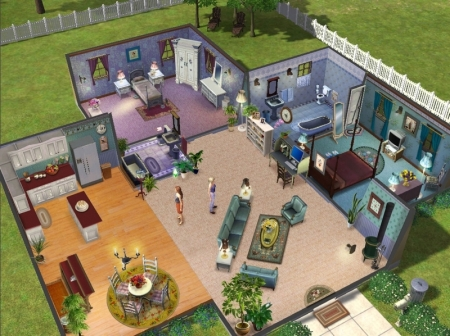 A different toy story for Virtual house building games online