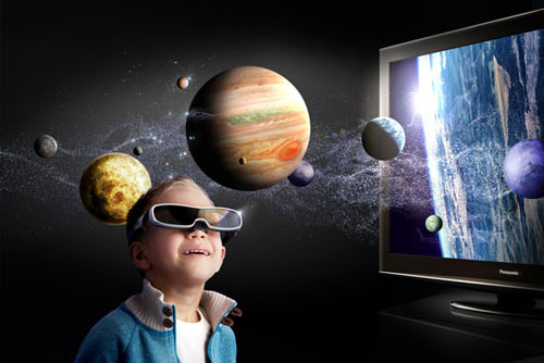 A 3D TV is one of the basic requirements for a 3D home entertainment hub. That's a given. And yes, you'll need 3D glasses too. Scroll down for a list of essential AV equipment required to complete your 3D home theater experience. (Image source: Panasonic)