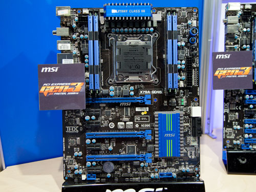 IDF 2011 - X79 Motherboards and Sandy Bridge-E Spotted