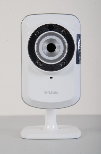 The D-Link DCS-932L Wireless N Day/Night Home Network Camera: small and simple.
