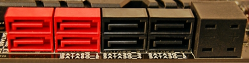 The Subzero Sense connector for your K-type thermocouple sits beside the on-board SATA connectors. It is located beside the black SATA 3Gbps connectors while the red ones are the SATA 6Gpbs connectors.
