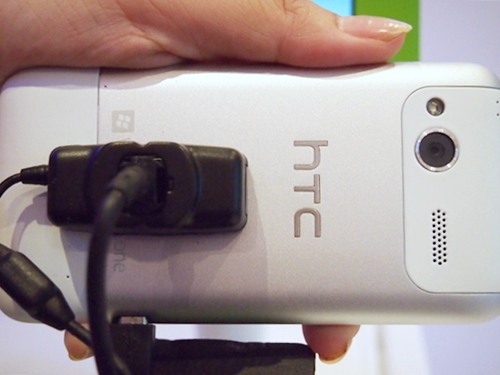 It is easy to mistake the HTC Radar for another HTC Android phone if not for the Windows Phone logo and text. The smartphone will come with a 5-megapixel camera with F2.2 lens, LED flash, and back-illuminated sensor.