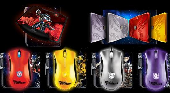 Razer Transformers Series Peripherals
