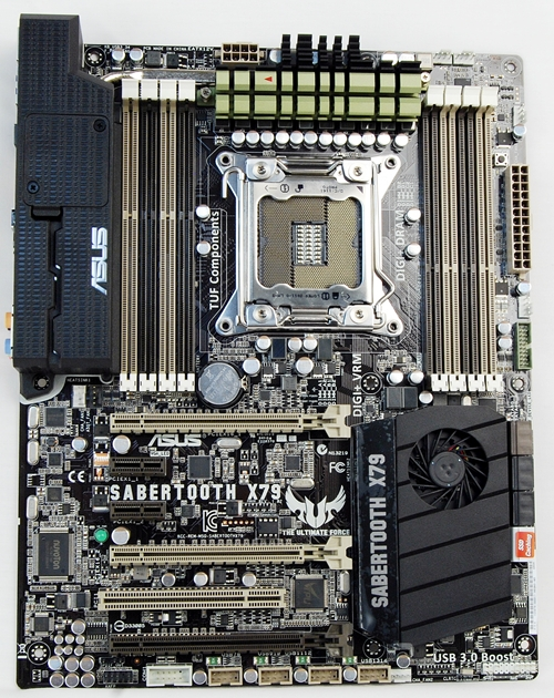The Sabertooth X79 is targeted at rig builders who look for server-grade components for their computing needs as well as military specification components that have long lifespans even under the most punishing operating environment. In attestation to the reliability of the board, its components come with a 5-year warranty.