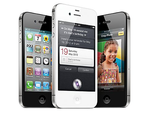 Apple's hopes of a US$40 billion quarter rest of how well the iPhone 4S does in the coming months. (Source: Apple)