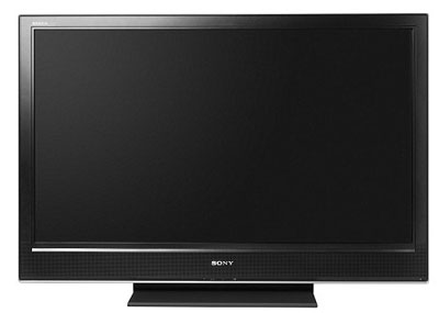 Sony Bravia HDTVs such as the KDL-46D3000 pictured here may be in danger of melting down due to a faulty component. (Image credit: Sony)