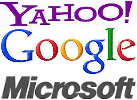 (Source: yahoo.com, google.com, microsoft.com)