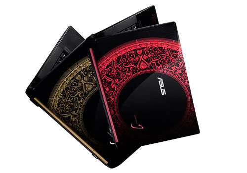Available in red or gold editions, the striking N43SL Jay Chou Special Edition is likely to turn some heads with its intricate motifs and artwork. What we'd like to know is will this 14-inch notebook's performance turn out to be as bold as it looks? Hang around and you'll find out soon enough.