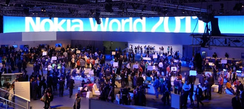 Media from around the globe converged at London from 26-27 October for Nokia World 2011