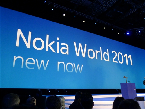 """New Now"" is the theme for Nokia World 2011"