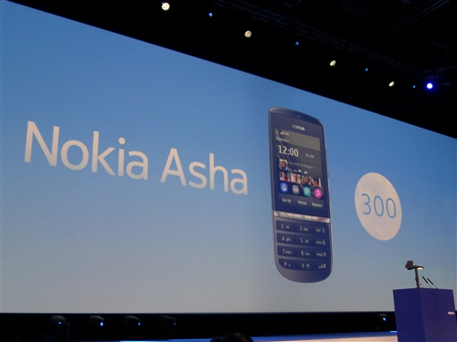 The new Nokia Asha 300 comes with a touchscreen and also offers a keypad. It has a powerful 1Ghz engine and 3G capabilities.