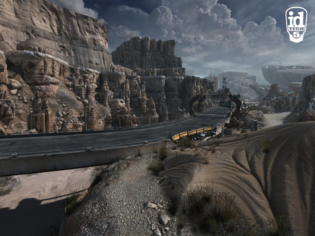 The game, RAGE, features great graphics and environments, and is a fine example of how immersive games can get these days