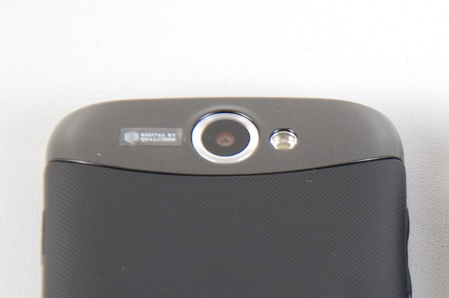 Here is a closer look at the Galaxy W I8150's 5-megapixel autofocus camera with LED flash.