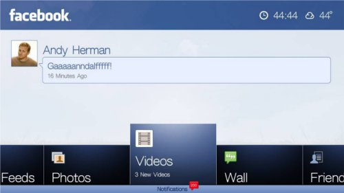 WD TV Live possesses the best Facebook app we've come across so far on any media player. Tabs neatly organize Facebook content for easy usage via the remote.
