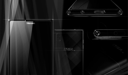 Teaser shot of upcoming Prada phone by LG 3.0 (Source: LG)