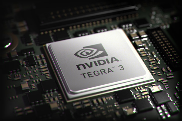 Multi-core processors, such as NVIDIA's quad-core Tegra 3, are preferred for its better power efficiency due to its ARM architecture. (Photo Source: NVIDIA)