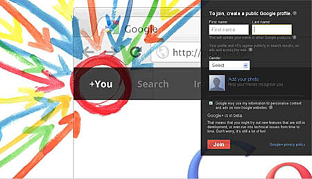 Sign up for your own Google+ Page. (Source: plus.google.com)