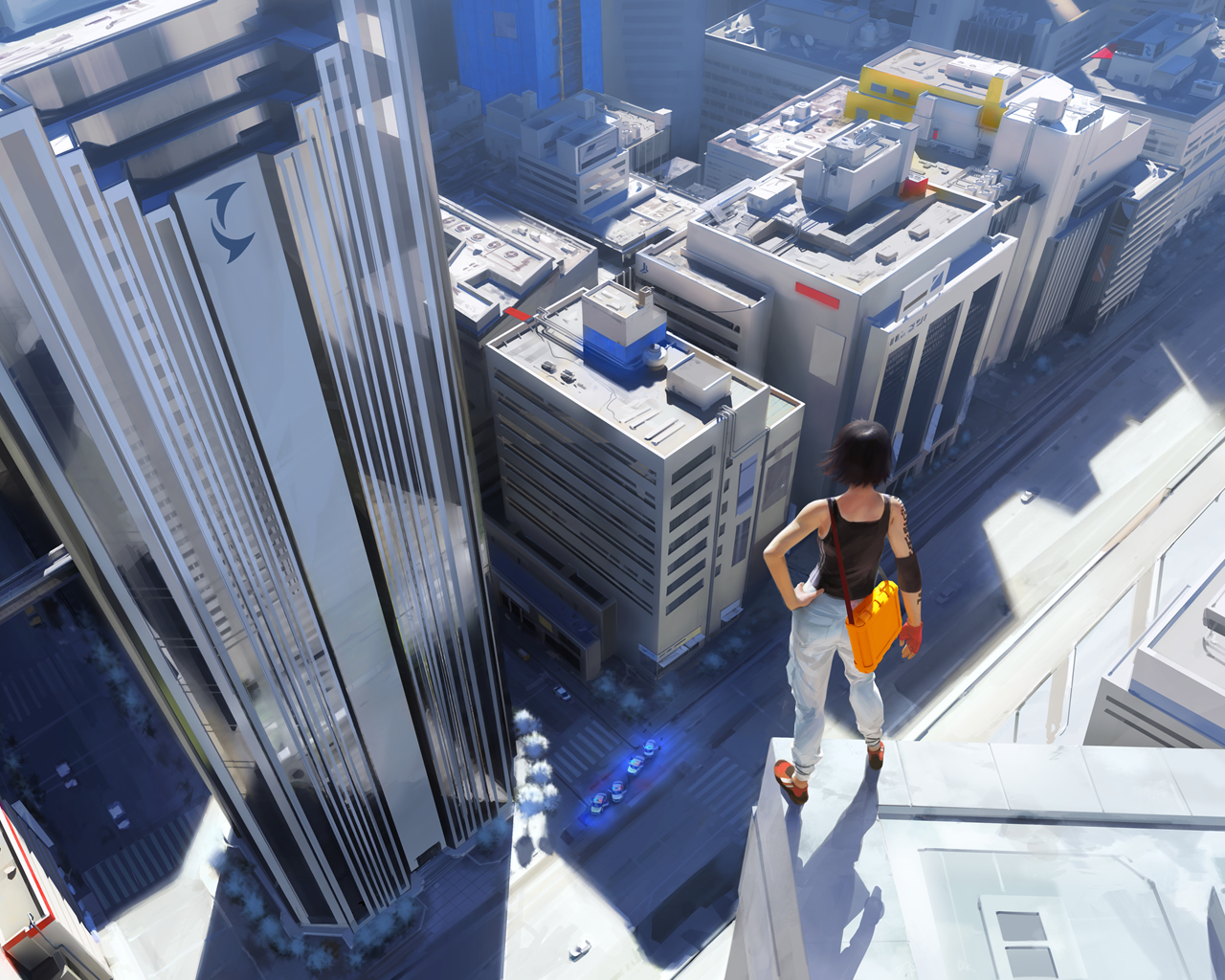 Mirror's Edge is another example of how a popular thing in real life (free-running) has influenced the creation of a video game, and that video game in turn, gave the sport more publicity
