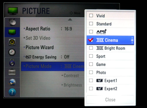 Enthusiasts will be pleased with the ten varied picture presets provided by LG, especially the highly customizable Expert options. The THX Cinema (for darker environments) and THX Bright Room variety will come in handy for those who are unable to calibrate their sets.