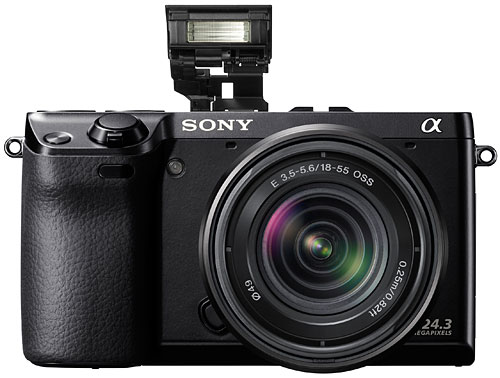 The 24.3-megapixel Sony NEX-7.
