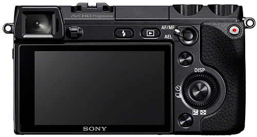 It's pretty amazing that Sony managed to cram in an electronic viewfinder...