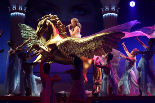 Featuring Kylie Minogue in her Aphrodite World Tour. Source: StarHub (iConcerts)