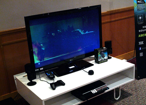 Here's a glimpse of the Recon3D in action. Given its versatile support for various gaming consoles and its wireless capabilities, the Recon3D is a viable audio device for console gamers to consider if they wish to augment their gaming experience with 3D surround sound and THX TruStudio Pro benefits.