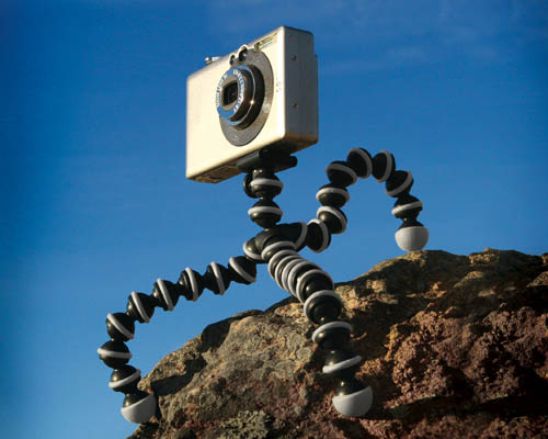 GorillaPods are smaller and lighter to carry when travelling.
