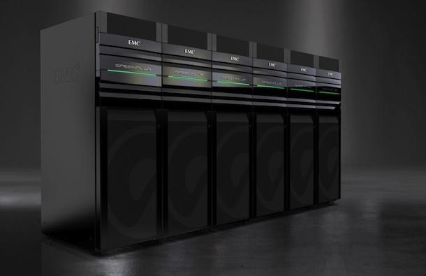 EMC Greenplum Data Appliance.