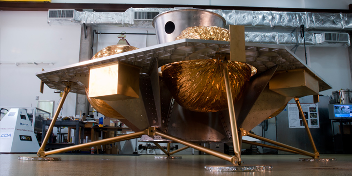 Astrobotic's Lunar Lander prototype.