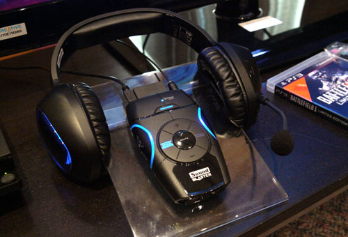 Creative is also bundling the wireless Tactic 3D Omega headset with the Recon3D unit in a S$329 package. Although the Recon3D is said to be compatible with any pair of headphones, Creative asserts that it's advisable to use their Sound Blaster products for an optimal 3D auditory experience.