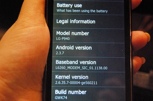 The PRADA Phone comes with the Android 2.3 Gingerbread OS as of now but users can expect an upgrade to Android 4.0 Ice Cream Sandwich OS in Q2 2012.