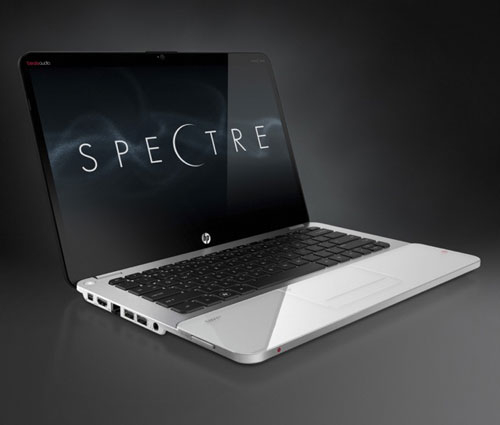 The HP Envy 14 (Spectre) isn't sporting an Ivy Bridge processor, but it will be covered in very tough Gorilla Glass.
