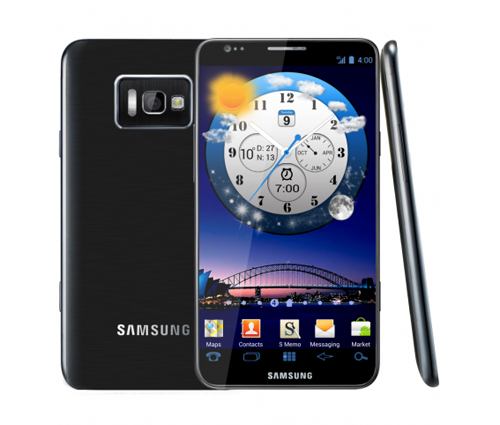 Here's hoping the Samsung Galaxy S III will be somewhat similar to the concept image shown here. (Source: Concept-Phones.com)