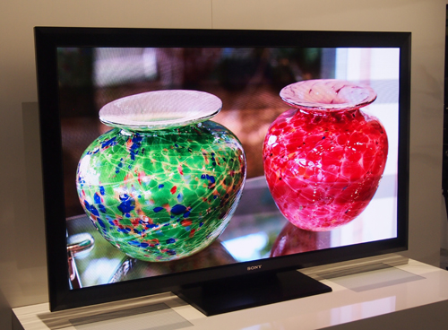 The 55-inch full HD prototype of Sony's Crystal LED display won't be commercially available anytime soon, and it's not an indication that Sony won't be furthering development of its OLED displays.