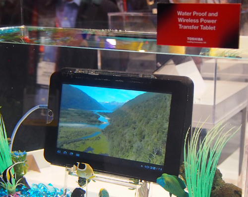 This is more than just a waterproof tablet.